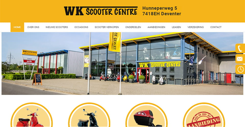 Webgiants - WK Scooter Centre